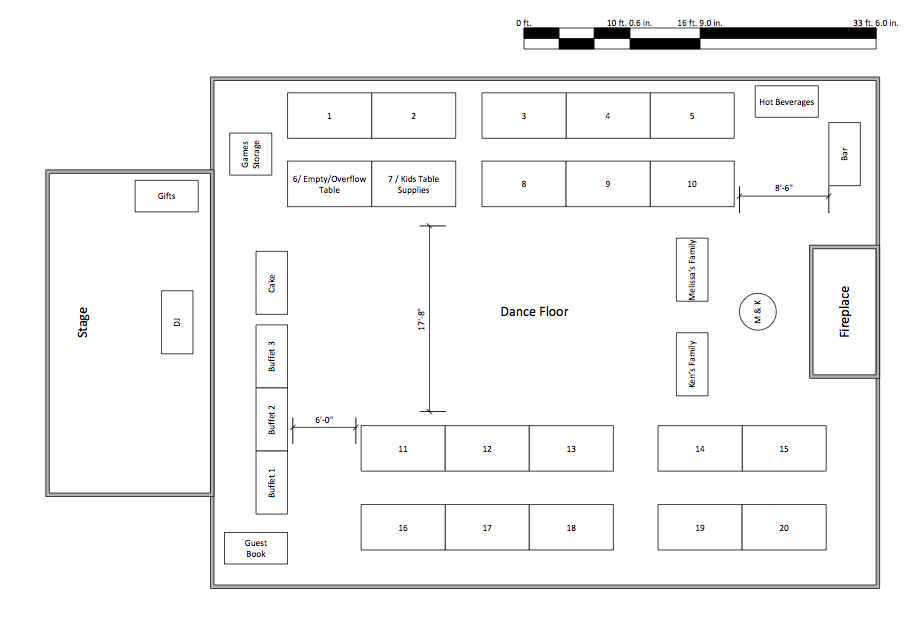 96 wedding reception table layout ideas amazing for Banquet floor plan template
